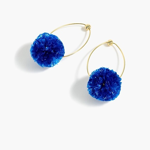 🟡3/$25🟡 J CREW | Raffia PomPom Earrings NEW!